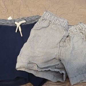 Set of 2 18m shorts, never worn